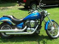 2007 Kawasaki Vulcan 900 Custom motorcycle. The bike