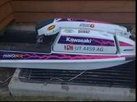 Kawasaki 550 SX JetSki in good condition. Standup, Lots