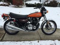 This is a very rare 1973Kwasaki z1 900 ,very well