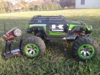 I have a Kawasaki Edition Traxxas Summit Its in good
