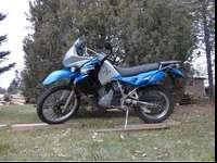 Up for sale is my dads 2008 Kawasaki KLR 650. It was