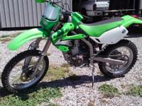 2006 KLX300R has been lowered, can be made back to