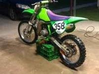 1998 Kawasaki kx100 Purchased awhile back..never had