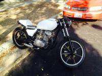 1981 Kawasaki Cafe Racer BuildClean Title - In