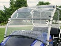 ON SALE KAWASAKI MULE 610 POLYCARBONATE WINDSHIELD