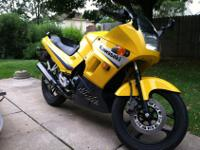 Only 3600 milesPerfect starter bike, easy to learn on,