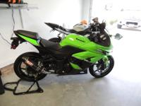 I have for sale a 2011 Kawasaki Ninja 250R. It is in