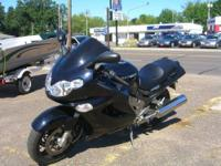 I have a very nice kawasaki Ninja for sale. It is in