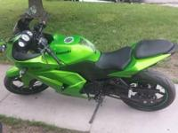 2012 Kawasaki Ninja Bike. I'm getting another