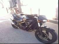 Kawasaki ninja ex500 streetfighter. Awesome bike low