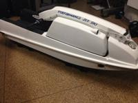 1990 Kawasaki Jet Ski 550 with custom PJS ride plate,