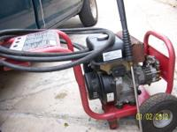kawasaki pressure washer RUNS GREAT IF YOU WOULD LIKE
