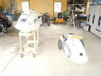 (3) Kawasaki JS 550 jet skis. All are 89's.   First one