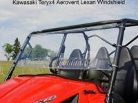 ON SALE - KAWASAKI TERYX4 UTV WINDSHIELD Kawasaki
