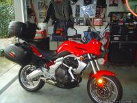08 KLE 650 with 8800 miles, possessed mature, like new,