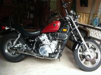 Selling a 2006 Kawasaki Vulcan 750.  This bike is