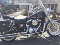 2001 kawasaki vulcan classic fi 1500 runs good in great