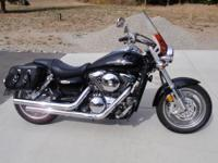2007 Kawasaki Vulcan Mean Streak with only 3,148 miles.