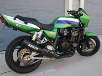 Great running 1999 kawasaki zrx 1100, has full kerker