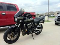 Clean 2000 Kawasaki ZRX 1100 for sale. The bike just