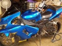 2005 Kawasaki ZX636________Very nice comfortable bike