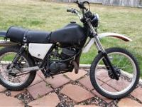 Selling as a project bike a 1982 Kawasaki KE175