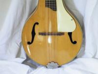 Kay mandolin from the 1950s. Teardrop body with a solid