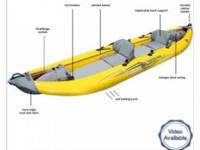 Advanced Elements StraitEdge 2 Inflatable Kayak $650
