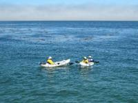 Great Tandem inflatable Kayak with two paddles,