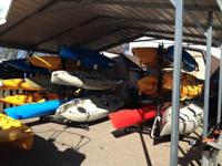 Come check out Strictly Sail's kayaks.  We have a large