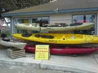 LARGE KAYAK SALE I'm holding a sale of new, used, and