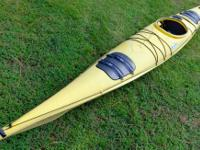 A great sea kayak built for speed and good overall