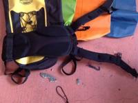 Various kayaking equipment $75 everything or prices as