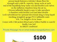 KAYAK CHRISTMAS package - $500 each (Clearwater) Make
