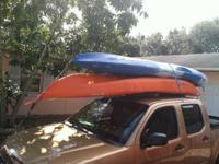 13ft Pelican Sit on Top Kayaks 2 seats for Rent 2