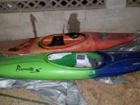 I have a few kayaks for sale. They are quite basic,