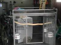 "Selling my bird cage (32""L/23""W/56""T), no longer"