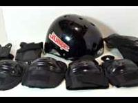 KB Knucklebone Jumper Helmet W/ Elbow, Wrist, Knee Pads