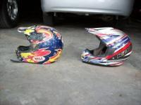 * KBC & Bell Helmets For Sale - $30 OBO * Both are size