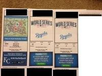 I have Game 1 World Series Tickets for sale $1600 OBO