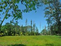 Graded, leveled and cindered 1 acre parcel in the