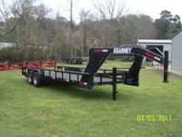 2011 Kearney 24 foot Lowboy gooseneck trailer. Bought