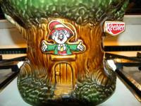 This is a mint condition Keebler Elf tree cookie jar.