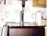 Like new Beer King kegerator with cleaning kit. Comes