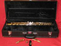 This saxophone is in excellent mechanical and cosmetic