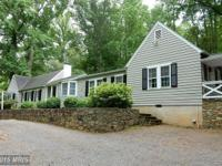Historic Warrenton horse farm for sale on 25 acres with