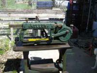 """Up for sale is this Keller 12"""" power hacksaw. It has"""