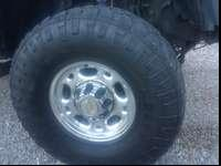 4 almost new tires for sale. Nothing wrong with them,