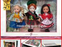 Kelly Tommy Friends of the World-Europe 3 Dolls Set I