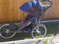 KELTY single child jogging stroller; good shape just in